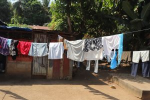 The Water Project:  Clothesline At Hospital Quarter