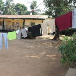The Water Project: Lungi, Suctarr, 1 Kamara Street, Government Hospital Pump 1 -  Clothesline At Hospital Quarter