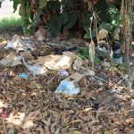 The Water Project: Lungi, Suctarr, 1 Kamara Street, Government Hospital Pump 1 -  Garbage