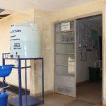 The Water Project: Lungi, Suctarr, 1 Kamara Street, Government Hospital Pump 1 -  Handwashing Station