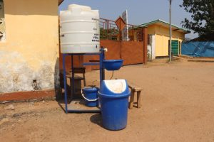 The Water Project:  Handwashing Station At The Entrance Of The Hospital