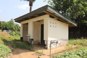 The Water Project:  Latrine At Hospital