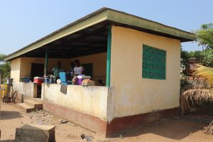 The Water Project:  Market Place At Hospital