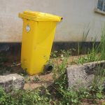 The Water Project: Lungi, Suctarr, 1 Kamara Street, Government Hospital Pump 1 -  Waste Bin At Hospital