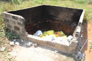 The Water Project:  Garbage Pit At Hospital