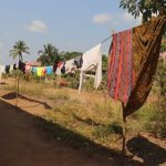 The Water Project: Lungi, Rotifunk, Paramount Chief's Compound -  Clothesline