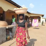 The Water Project: Lungi, Rotifunk, Paramount Chief's Compound -  Woman Selling Bread
