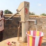 The Water Project: Lungi, Rotifunk, Paramount Chief's Compound -  Collecting Water