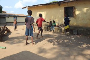 The Water Project:  Kids Playing Football