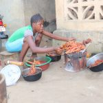 The Water Project: Lungi, Rotifunk, Paramount Chief's Compound -  Woman Preparing Food
