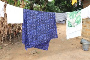 The Water Project:  Clothesline In Community