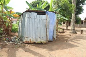 The Water Project:  Latrine At Community