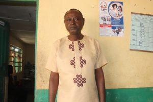 The Water Project:  Principal Mr James Hindolo Kamanda
