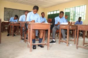 The Water Project:  Students Inside Classroom