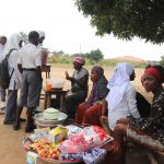 The Water Project: Kankalay Primary and Secondary School -  Students Buying Food