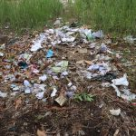 The Water Project: Kankalay Primary and Secondary School -  Garbage