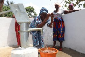 The Water Project:  Section Chief Celebrates Clean Water