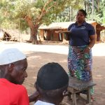 The Water Project: Lokomasama, Gbonkogbonko Village -  Hygiene Facilitator Teaching About Balanced Diet