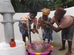 The Water Project:  Community Members Celebrating