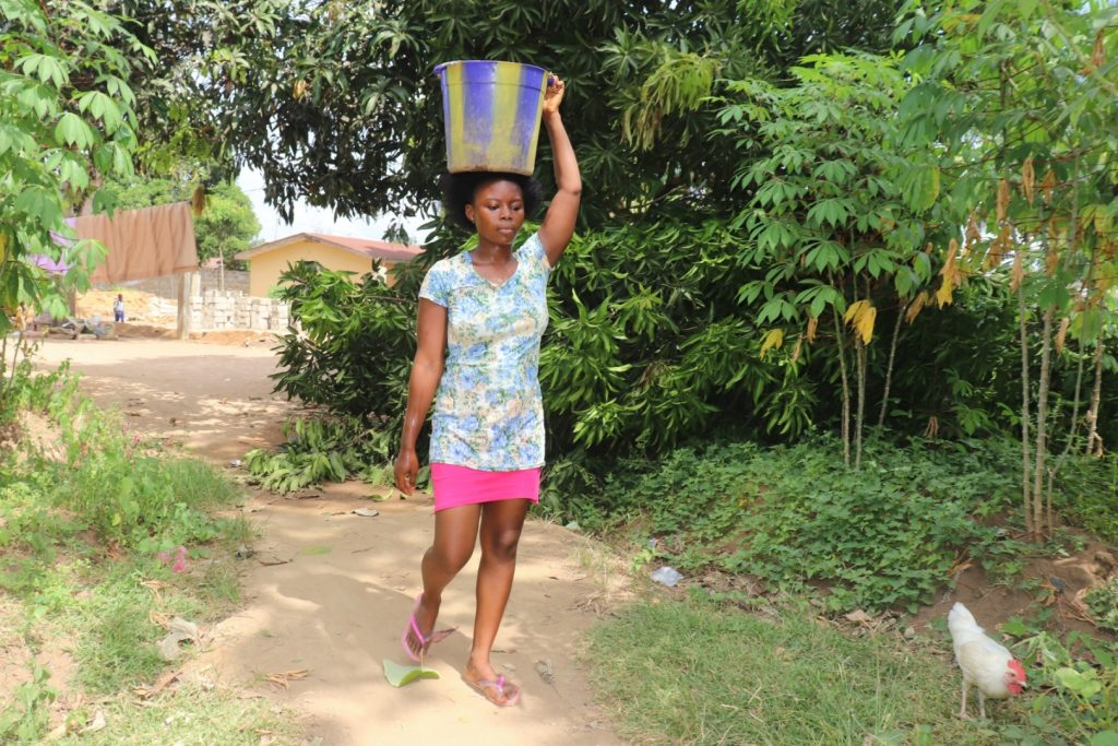 The Water Project : sierraleone21504-carrying-water-2