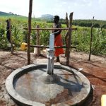 The Water Project: Kaitabahuma I Community -  Pumping The New Well