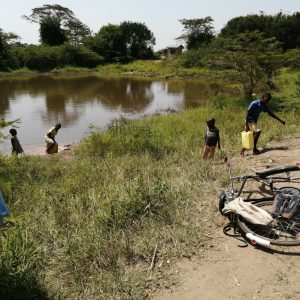 The Water Project:  Children Hauling Water From The Open Source