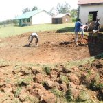 The Water Project: Eshimuli Primary School -  Excavating Rain Tank Site