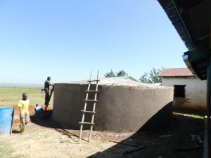 The Water Project:  Smoothing Outer Walls And Preparing Dome