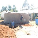 The Water Project: Eshimuli Primary School -  Soak Pit Construction