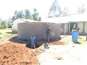 The Water Project:  Soak Pit Construction