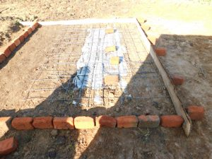 The Water Project:  Latrine Pad Construction