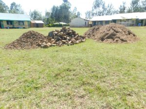 The Water Project:  Materials Ready For Construction