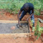 The Water Project: Machemo Community, Boaz Mukulo Spring -  Sanplat Construction