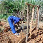 The Water Project: Mahira Community, Mukalama Spring -  Slab Construction