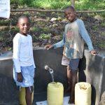 The Water Project: Shianda Township Community, Olingo Spring -  Boys At The Spring