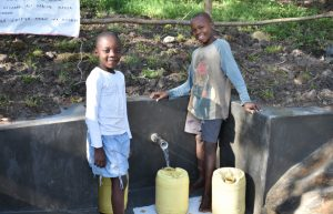 The Water Project:  Boys At The Spring