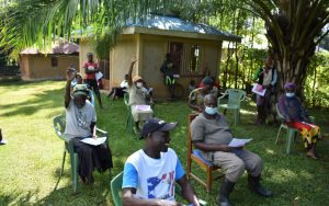 The Water Project:  The Participants Made Training Lively And Fun
