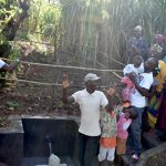 The Water Project: Musango Commnuity, Wabuti Spring -  Happy Faces At The Celebration