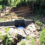 The Water Project: Mukhungula Community, Mulongo Spring -  Protected Spring