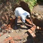 The Water Project: Musango Commnuity, Wabuti Spring -  Brickwork