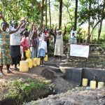 The Water Project: Shianda Township Community, Olingo Spring -  Cheers To A New Beginning