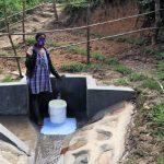 The Water Project: Mukhungula Community, Mulongo Spring -  At The Spring