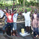 The Water Project: Shianda Township Community, Olingo Spring -  Water Celebrations