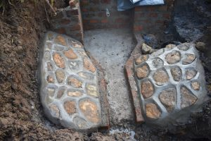 The Water Project:  Plastered Stone Pitching