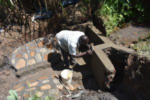 The Water Project:  Plastering The Walls