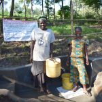The Water Project: Shianda Township Community, Olingo Spring -  Women At The Spring