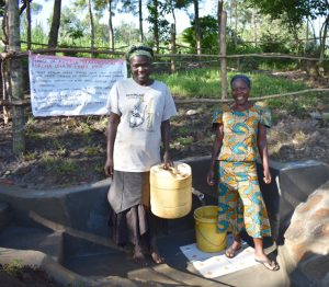 The Water Project:  Women At The Spring