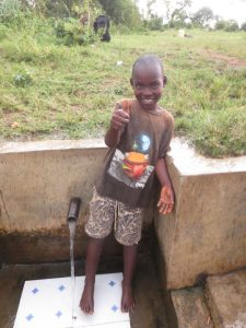 The Water Project:  Timothy Excited About Having Water