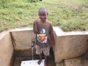 The Water Project:  Timothy Gives Thumbs Up For Clean Water