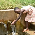 The Water Project: Musiachi Community, Mutuli Spring -  Precious Enjoying The Water